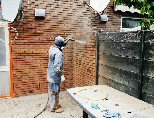 Gevelrenovatie woningbouwvereniging Breda