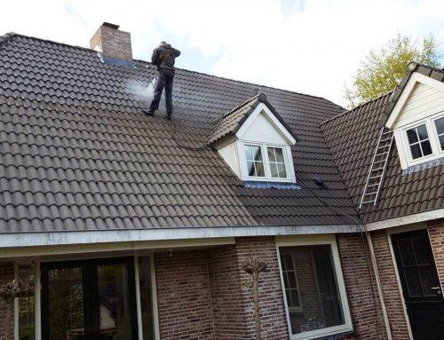 Dakreiniging dakpannen in Den Hout