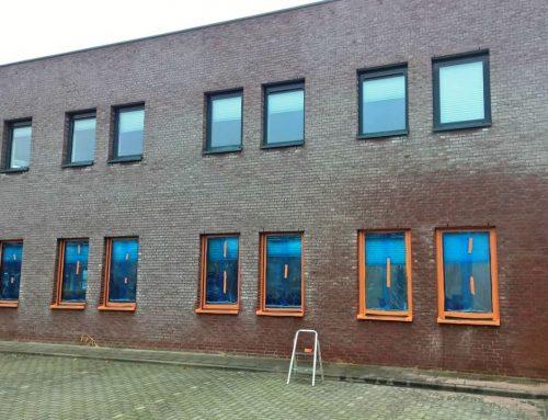 Witte uitbloei metselwerk verwijderen in Breda